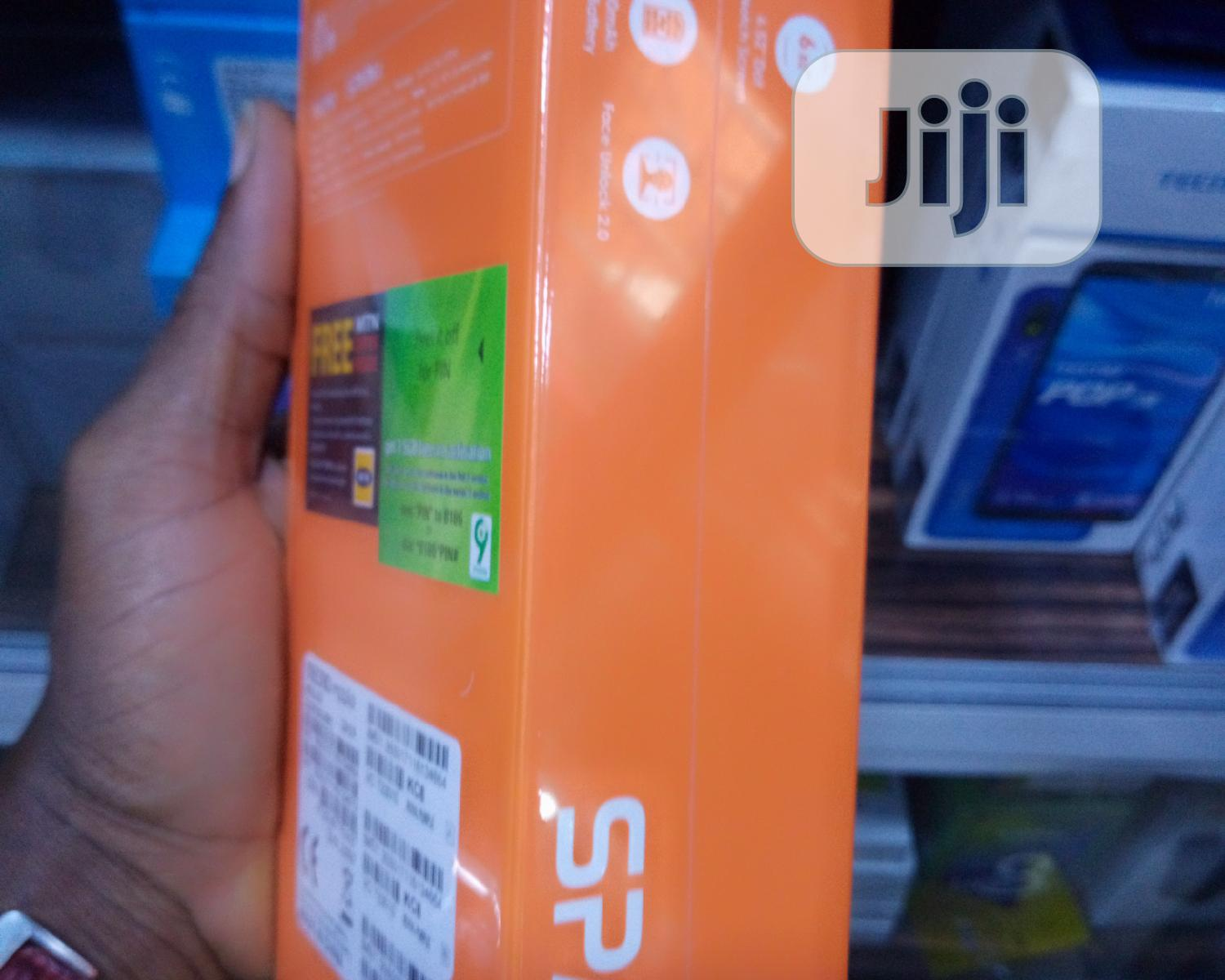 New Tecno Spark 4 32 GB Blue | Mobile Phones for sale in Ikeja, Lagos State, Nigeria