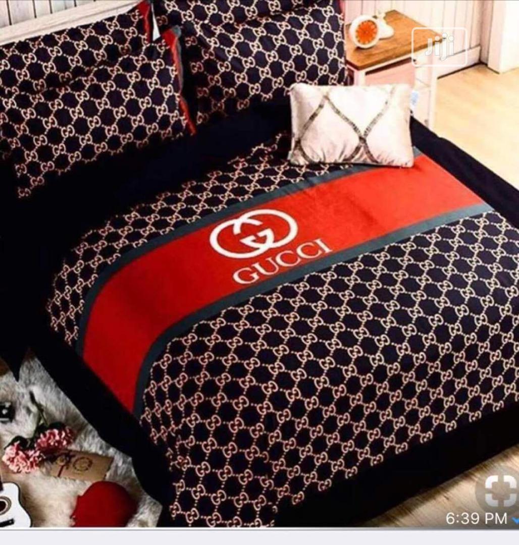 Gucci Designer Duvet and Bedsheets Set