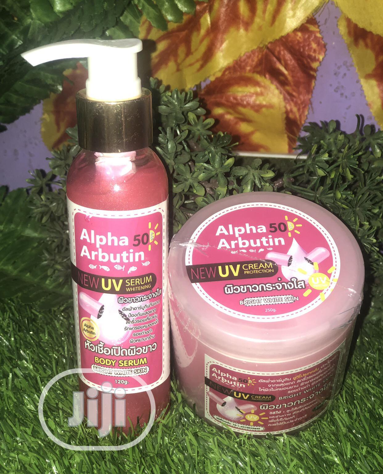 Alpha Arbutin Bright White Skin Cream Serum | Skin Care for sale in Ikotun/Igando, Lagos State, Nigeria