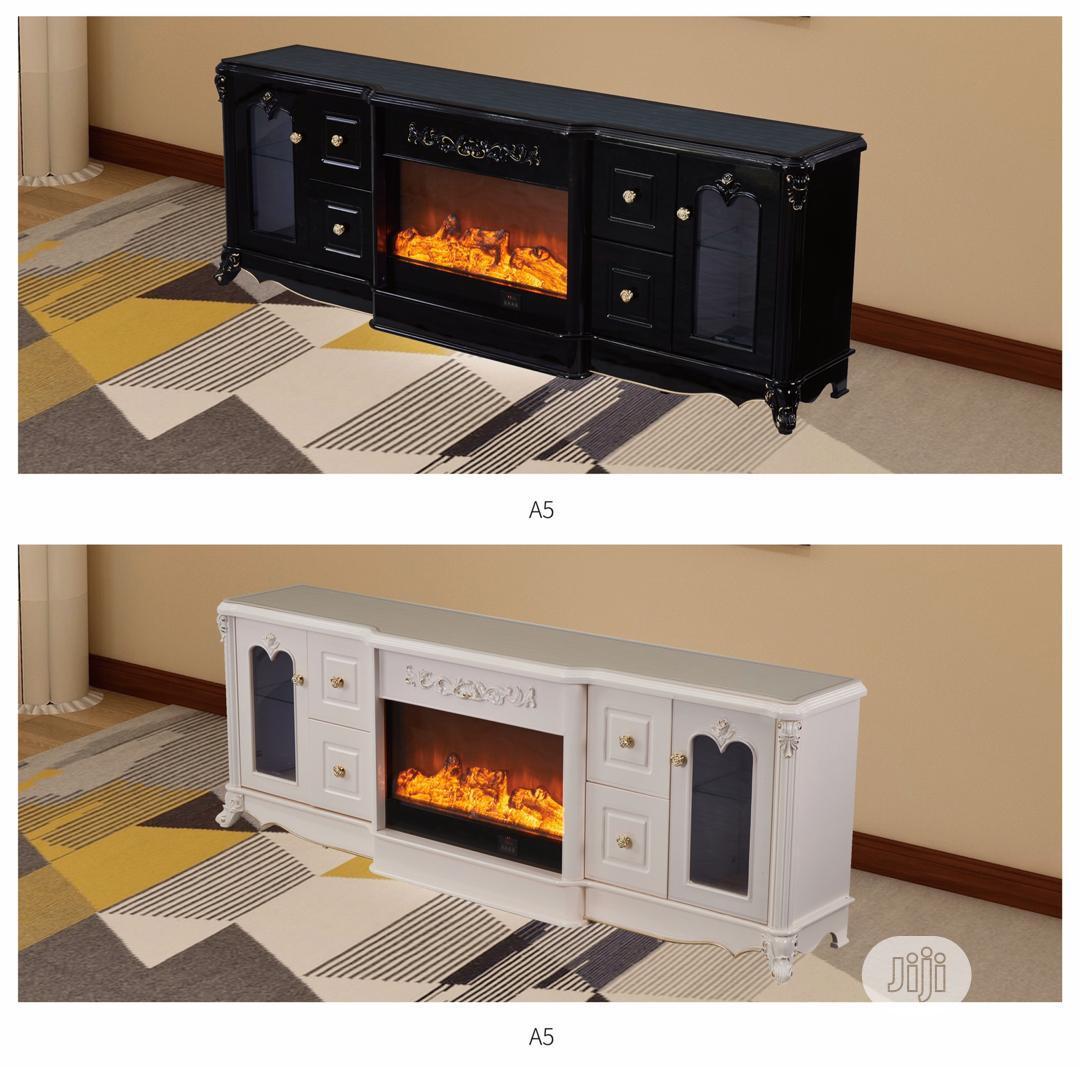 High Quality Fire Place Tv Shelve