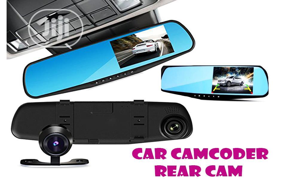 E-Ace Full HD 1080P Car DVR Dual Camera Front and Rearview Auto 4.3 In