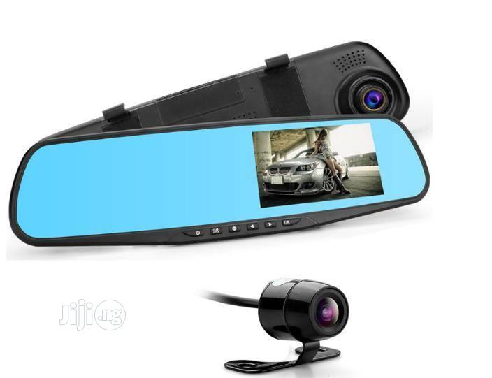 E-Ace Full HD 1080P Car DVR Dual Camera Front and Rearview Auto 4.3 In | Vehicle Parts & Accessories for sale in Ikeja, Lagos State, Nigeria