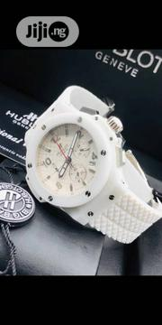 Hublot White Rubber Strap Watch | Watches for sale in Lagos State, Lekki Phase 1
