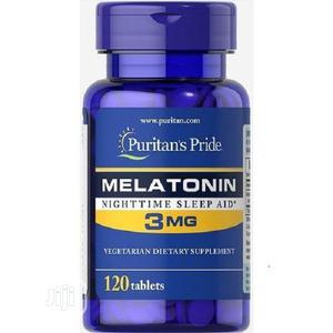 Puritan's Pride Melatonin Nighttime Sleep Aid-3mg by 120 Tablets   Vitamins & Supplements for sale in Lagos State, Ojo