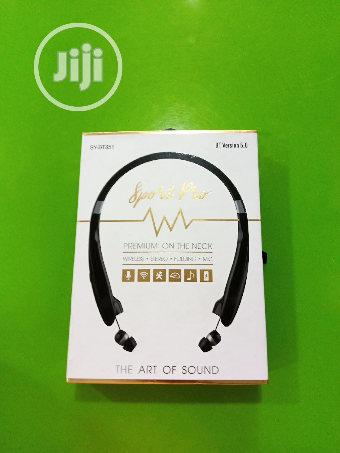 SY-BT851 Wireless Earpiece   Accessories for Mobile Phones & Tablets for sale in Port-Harcourt, Rivers State, Nigeria