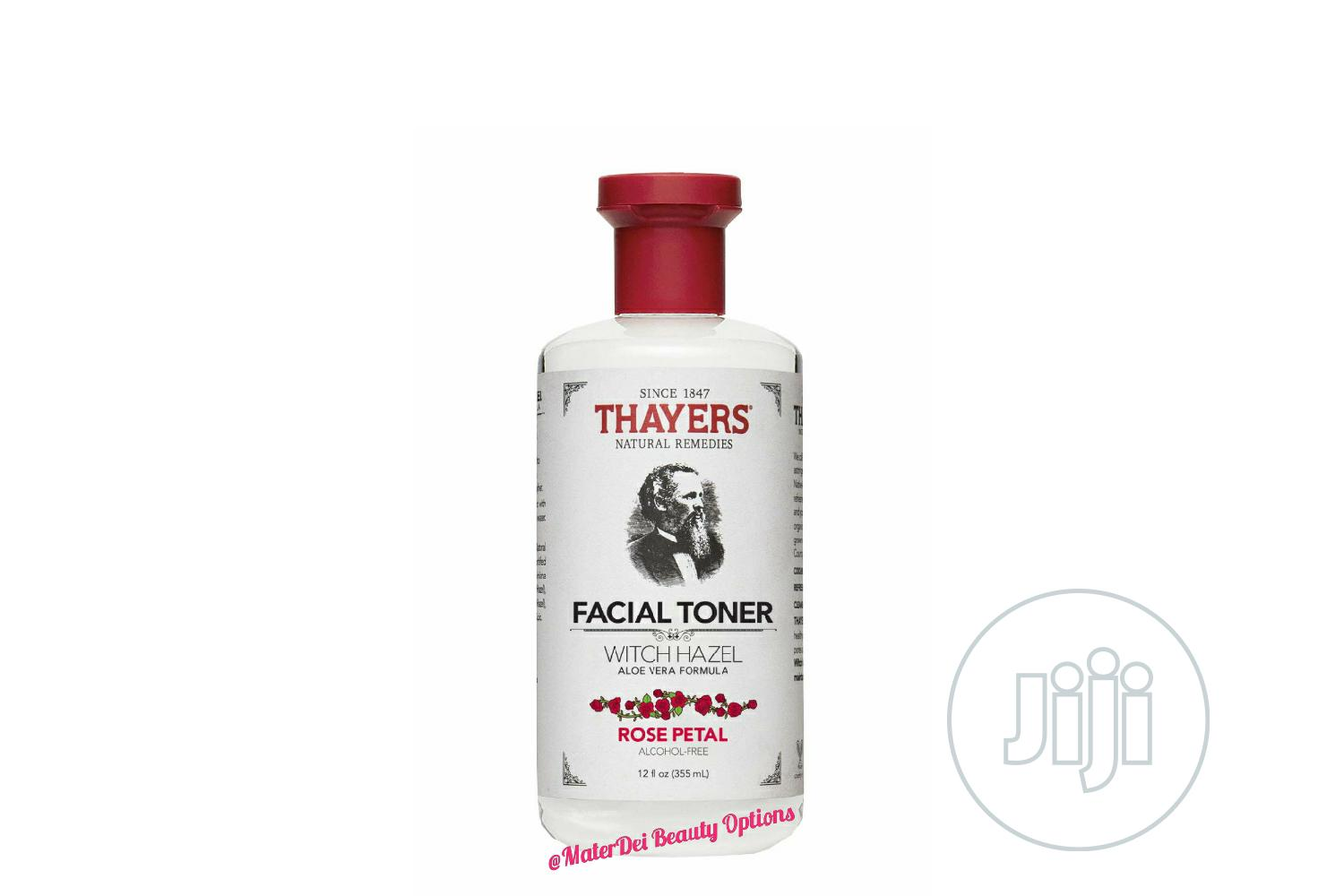 Thayers Witch Witch Hazel Facial Toner With Rose Petals