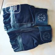 Leather Gold Black Gym Gloves   Sports Equipment for sale in Abuja (FCT) State, Wuse 2