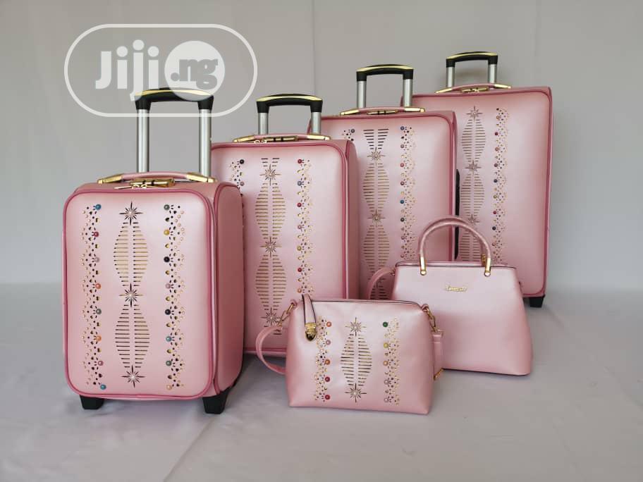 Luggage Travel Trolley- Set Of 6