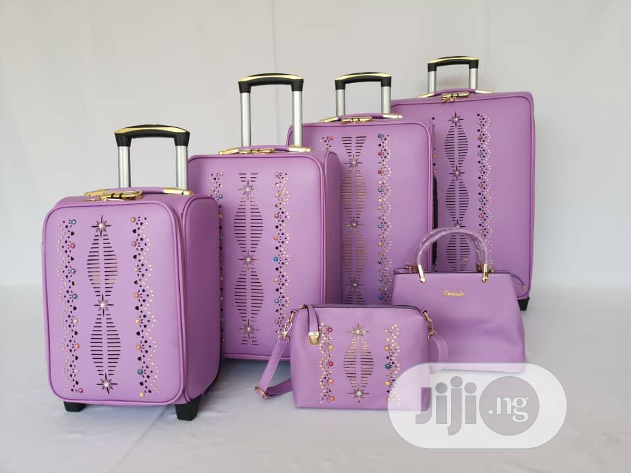 Luggage Travel Trolley- Set Of 6 | Bags for sale in Ikeja, Lagos State, Nigeria