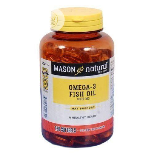 Mason Vitamins Omega-3 Fish Oil 1000 Mg In Softgels Is Purified To El