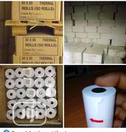 Thermal Printing Paper (80mm By 80mm) 50 Rolls   Stationery for sale in Lagos State, Ikeja