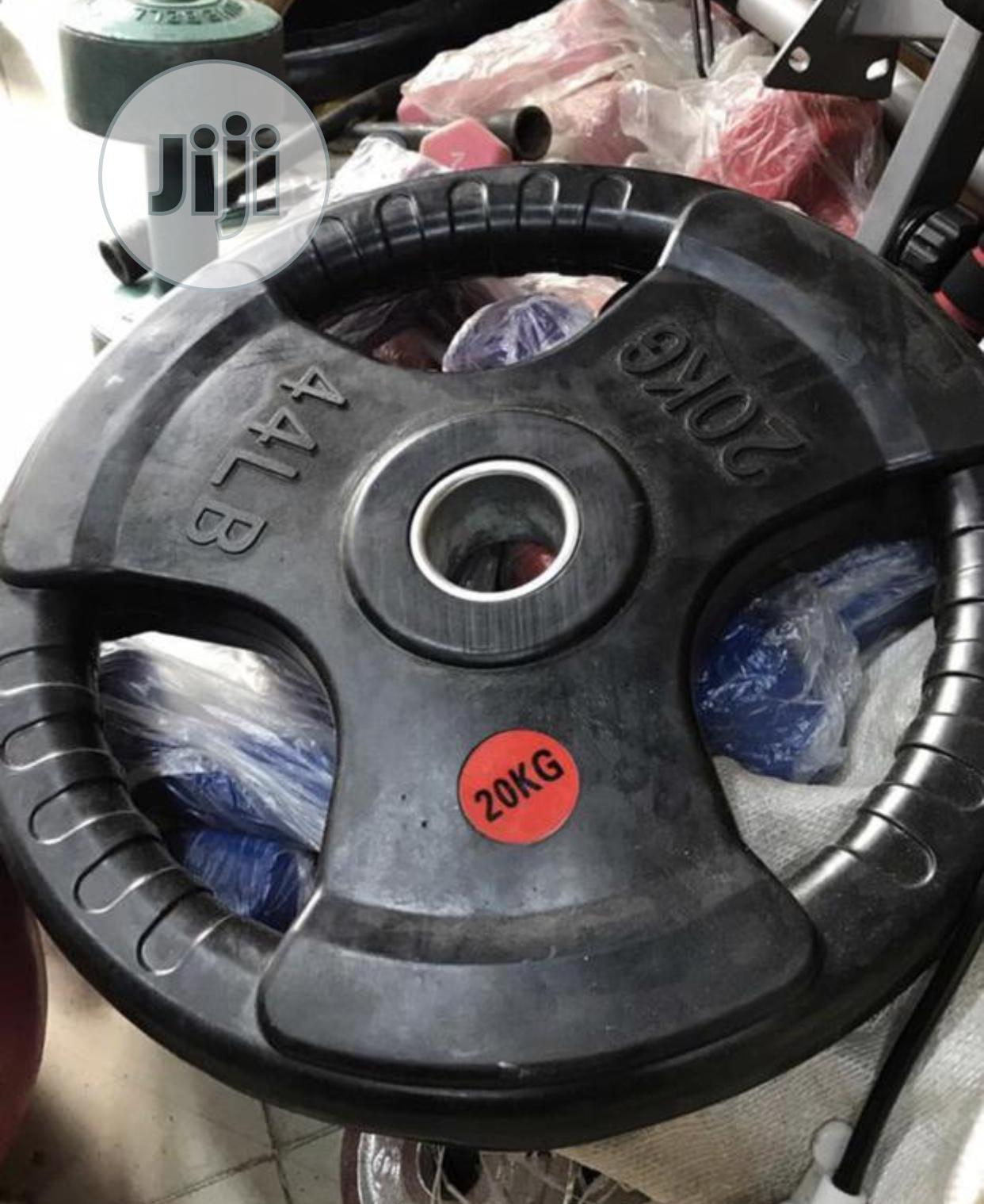 20kg Olympic Barbell Plate
