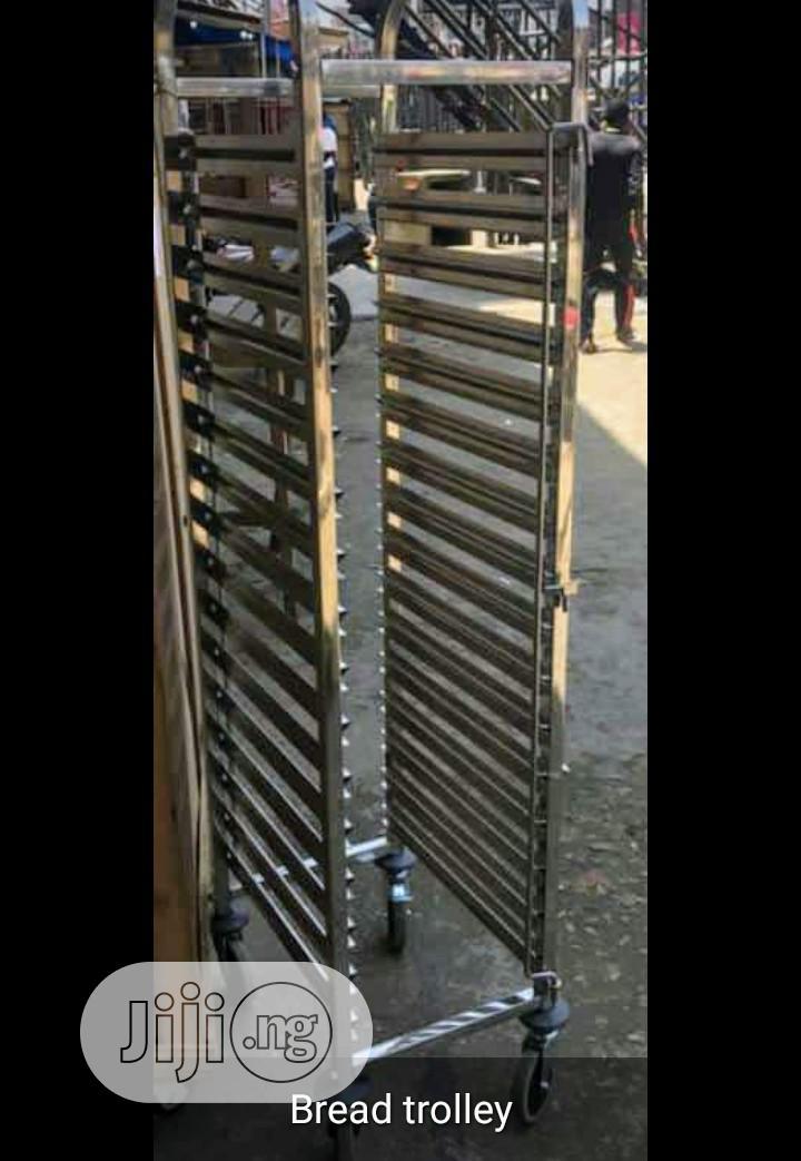 15trays Bread Rack