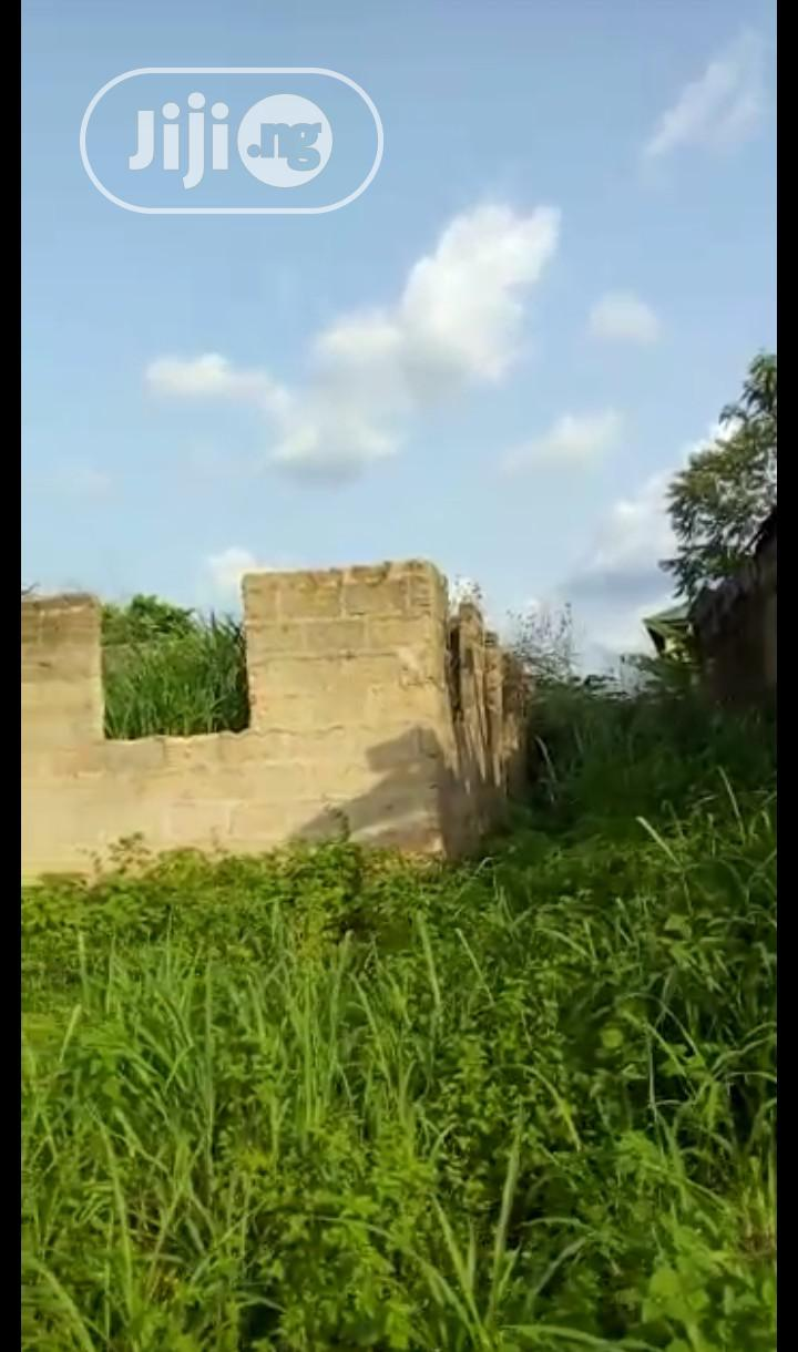 Archive: 50x100 Land for Sales With a Foundation of 2bed Room Flat