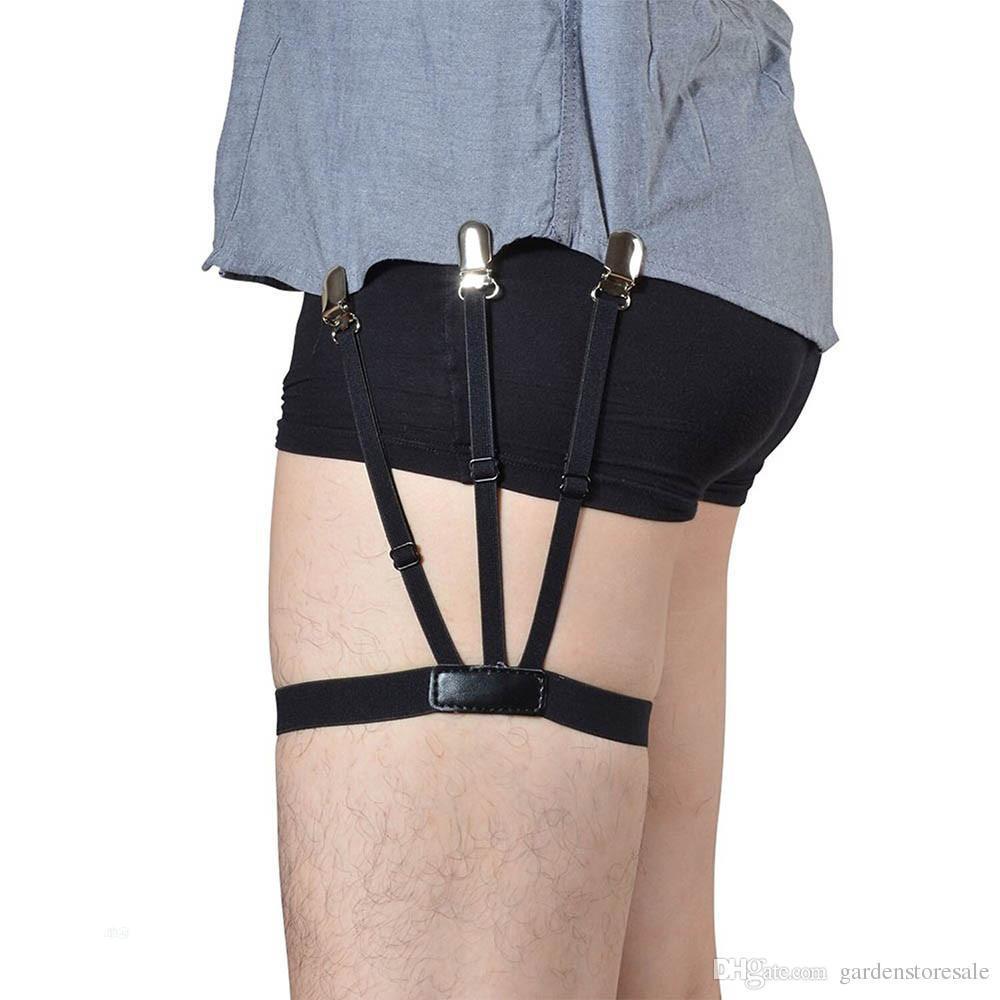 Tuck In Shirt Suspenders