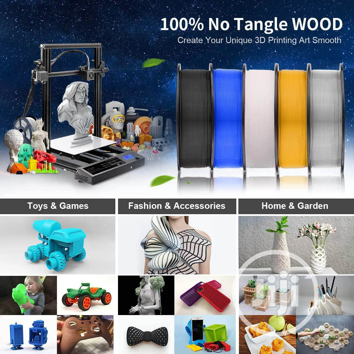 USA SUNLU Wood 3D Printer Filament 1.75mm PLA Filament 1kg/Spool | Printing Equipment for sale in Alimosho, Lagos State, Nigeria
