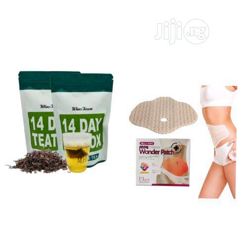 Belly Detox Combo 14 Days Detox Tea & Belly Slimming Patch
