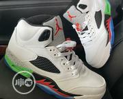 "Air Jordan 5 Retro ""White"" Sneakers 