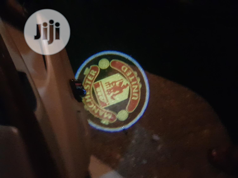 Manchester United Led Door Logo