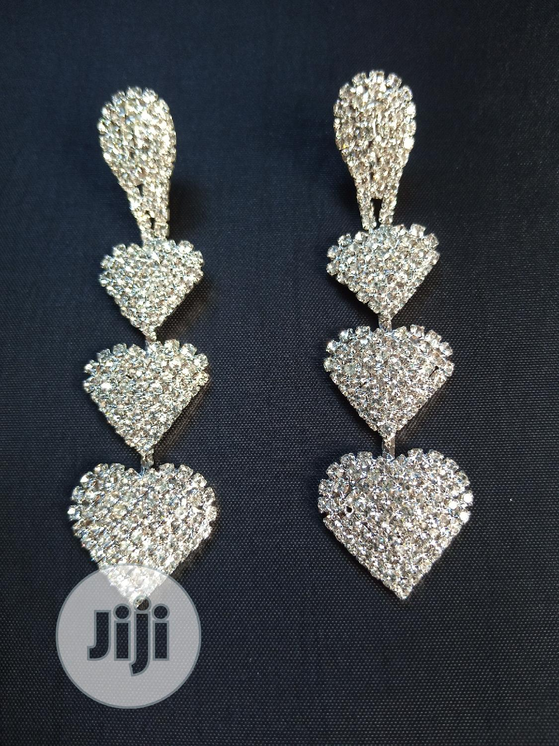 Archive: Classic Long Stone Earring