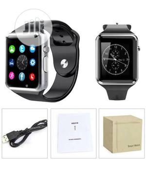 A1 Smart Watch Single Sim GSM, Bluetooth, Memory Card Slot & Camera | Smart Watches & Trackers for sale in Lagos State, Ikeja