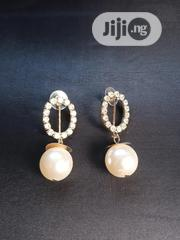 Classic Stone And Pearl Earring | Jewelry for sale in Abuja (FCT) State, Wuse