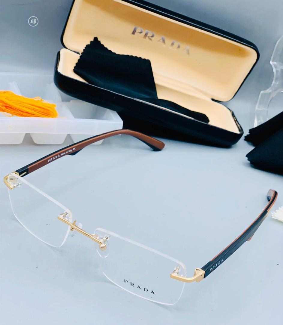 Prada Glasses for Unisex
