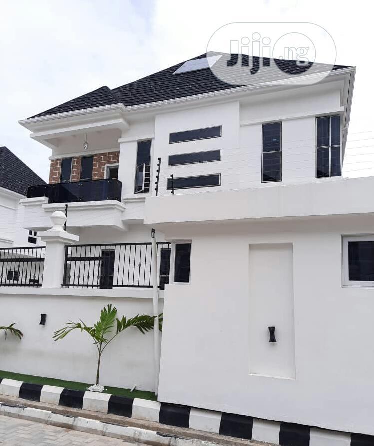 A Massive Built 5 Bedroom Fully Detached Duplex With Govt Consent