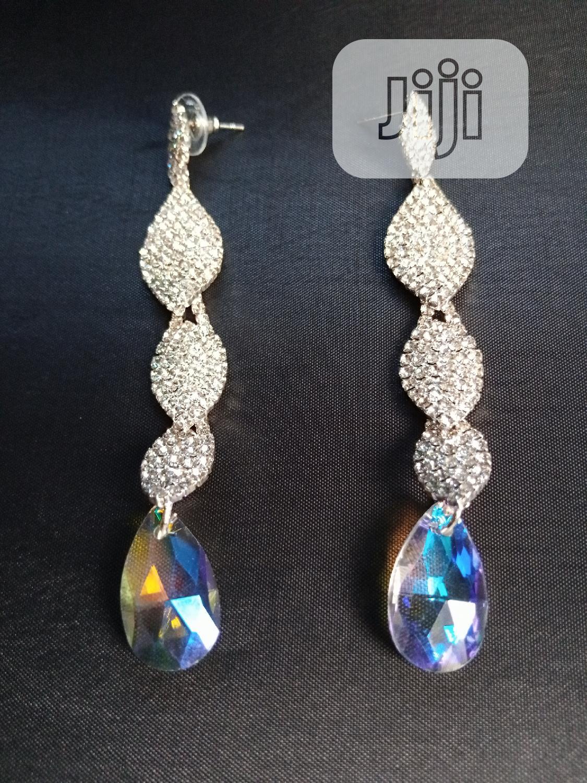 Archive: Beautiful Long Stone Earring