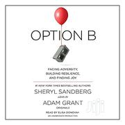 OPTION B. By Sheet Sandberg | Books & Games for sale in Lagos State, Surulere