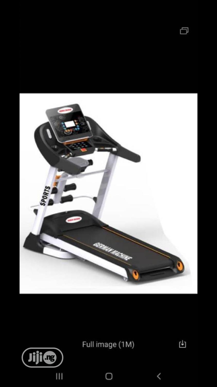 Archive: 4HP Treadmill