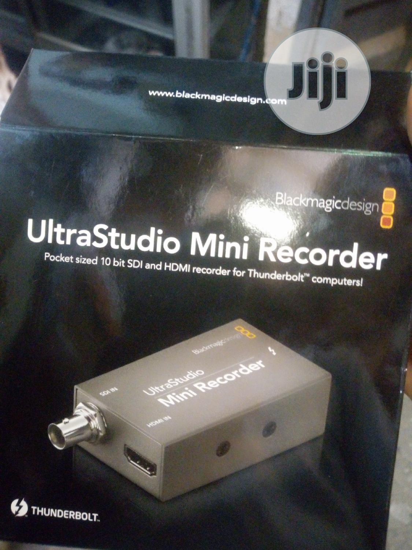 Blackmagic Design Ultrastudio Mini Recorder Thunderbolt In Ojo Accessories Supplies For Electronics Rujohn Mega Concept Ltd Jiji Ng