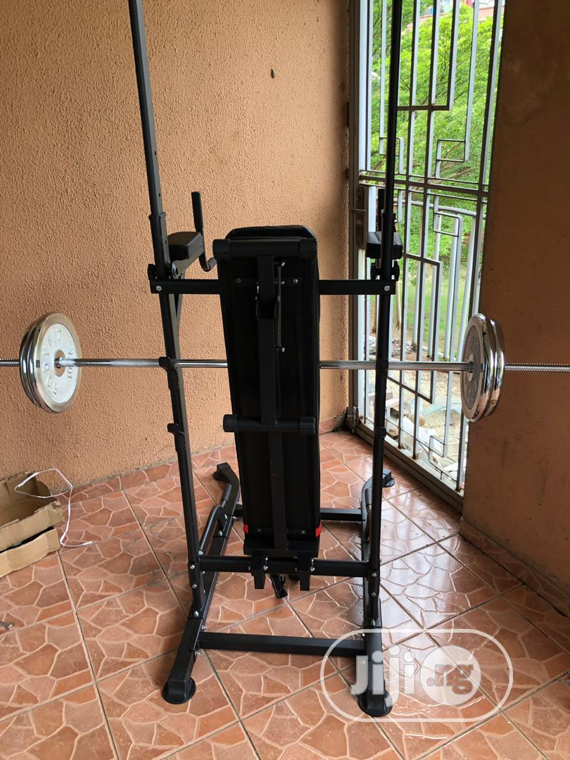 Power Rack With Bench
