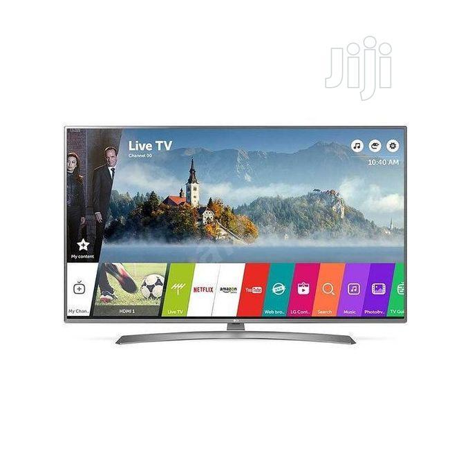 "LG ""60 4K Ultra HD Smart Satellite TV + Magic Remote 60UJ634"