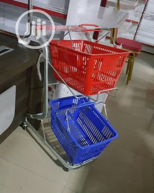 Plastic Super Market Trolley | Store Equipment for sale in Lagos State, Ojo