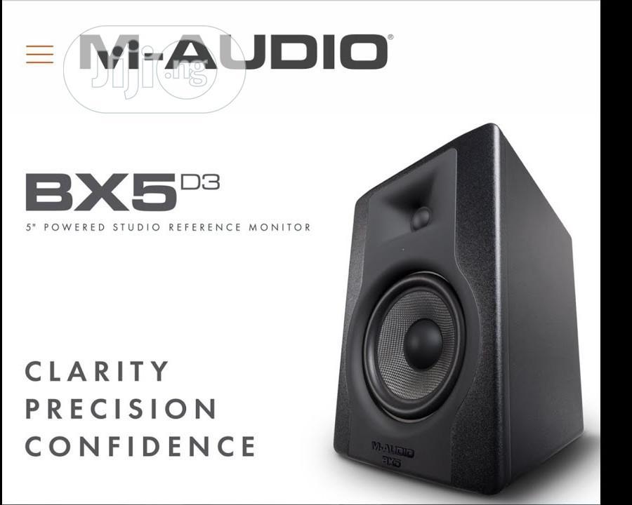 M-audio Bx5 D3 Studio Monitor | Audio & Music Equipment for sale in Mushin, Lagos State, Nigeria