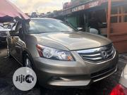 Honda Accord 2010 Coupe EX-L V-6 Gold | Cars for sale in Lagos State, Apapa