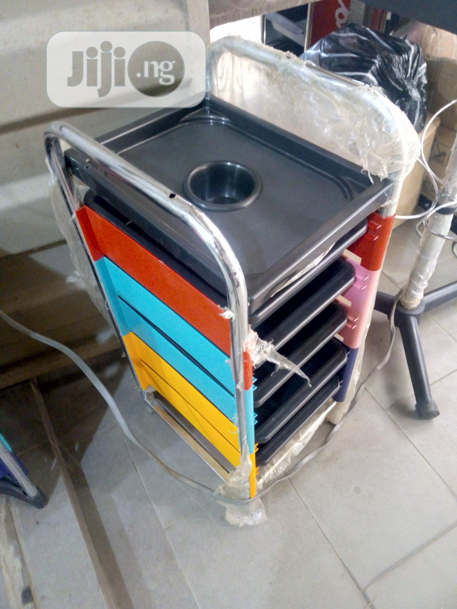 Salon Step Trolley