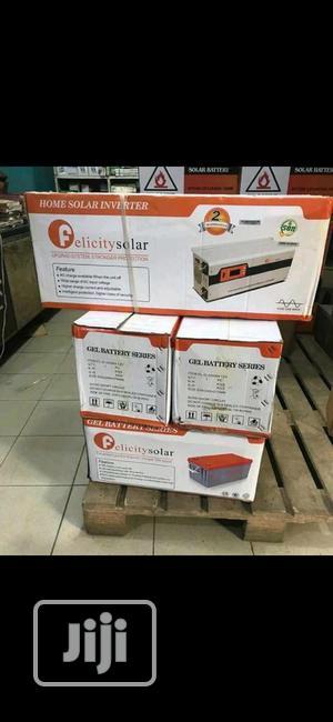 48V 5000VA Inverter and Batterys From Felicity Solar Items I | Solar Energy for sale in Lagos State, Ojo