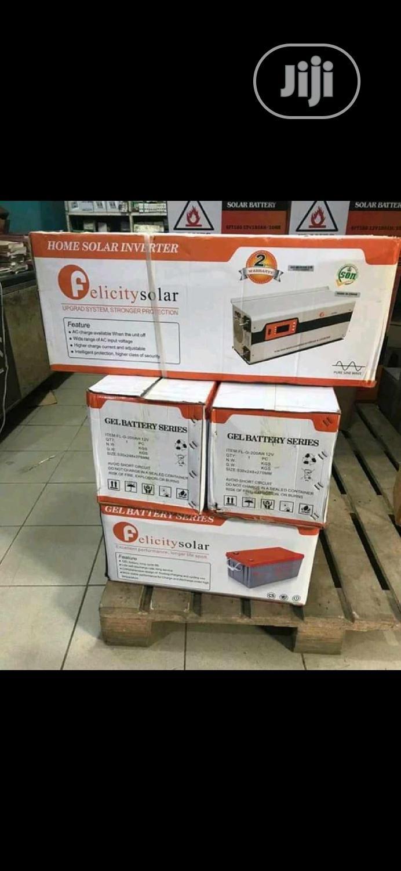 48V 5000VA Inverter and Batterys From Felicity Solar Items I