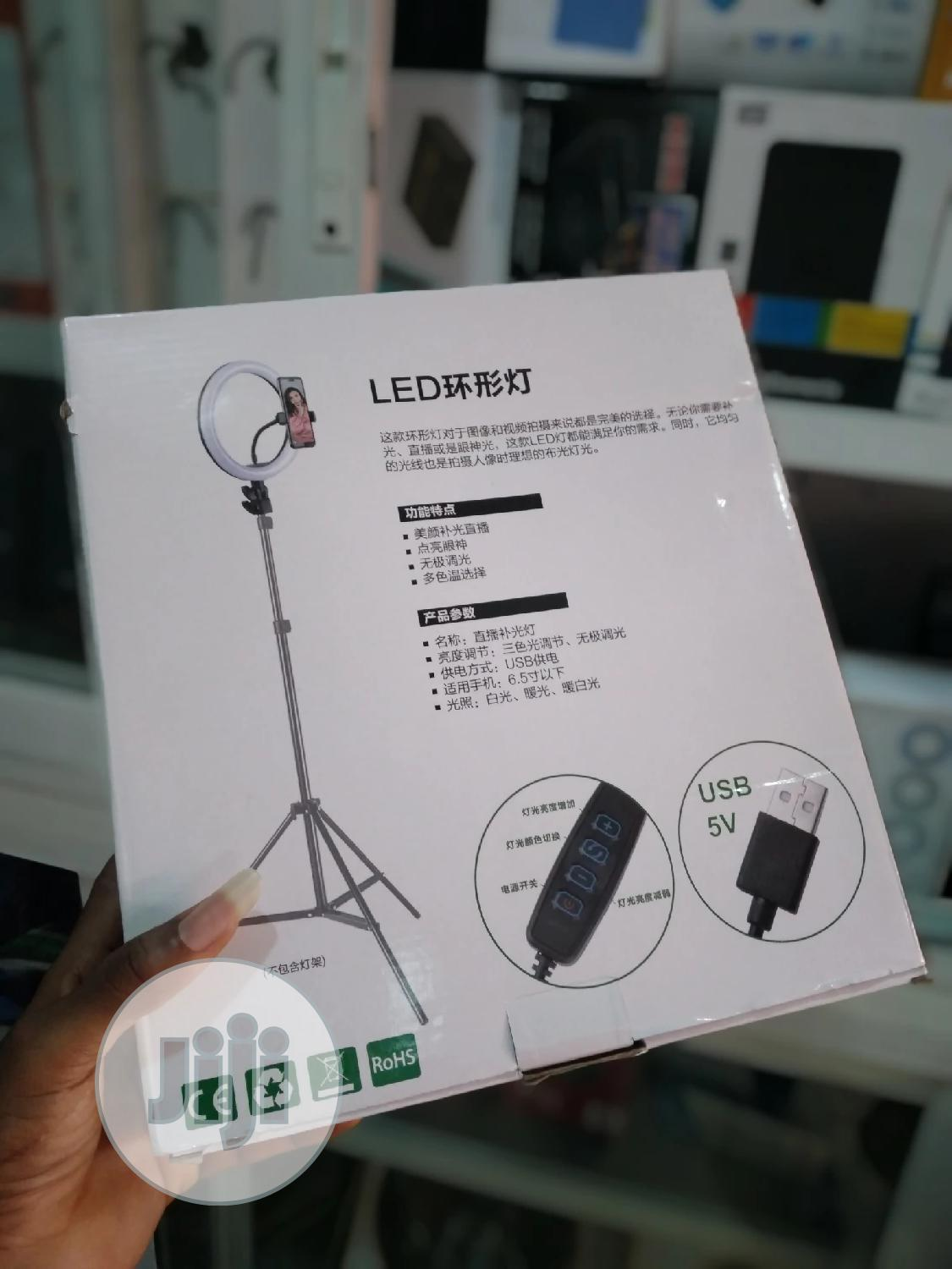 Ringlight Complete Set.   Accessories & Supplies for Electronics for sale in Ikeja, Lagos State, Nigeria