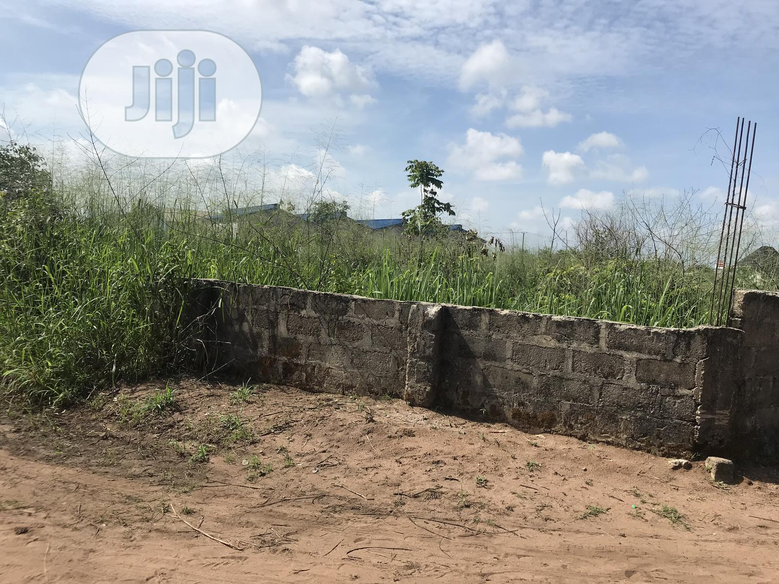 6 Plots of Land Fenced With Gate Inside a Gated Estate 4 Hotel   Land & Plots For Sale for sale in Owerri, Imo State, Nigeria