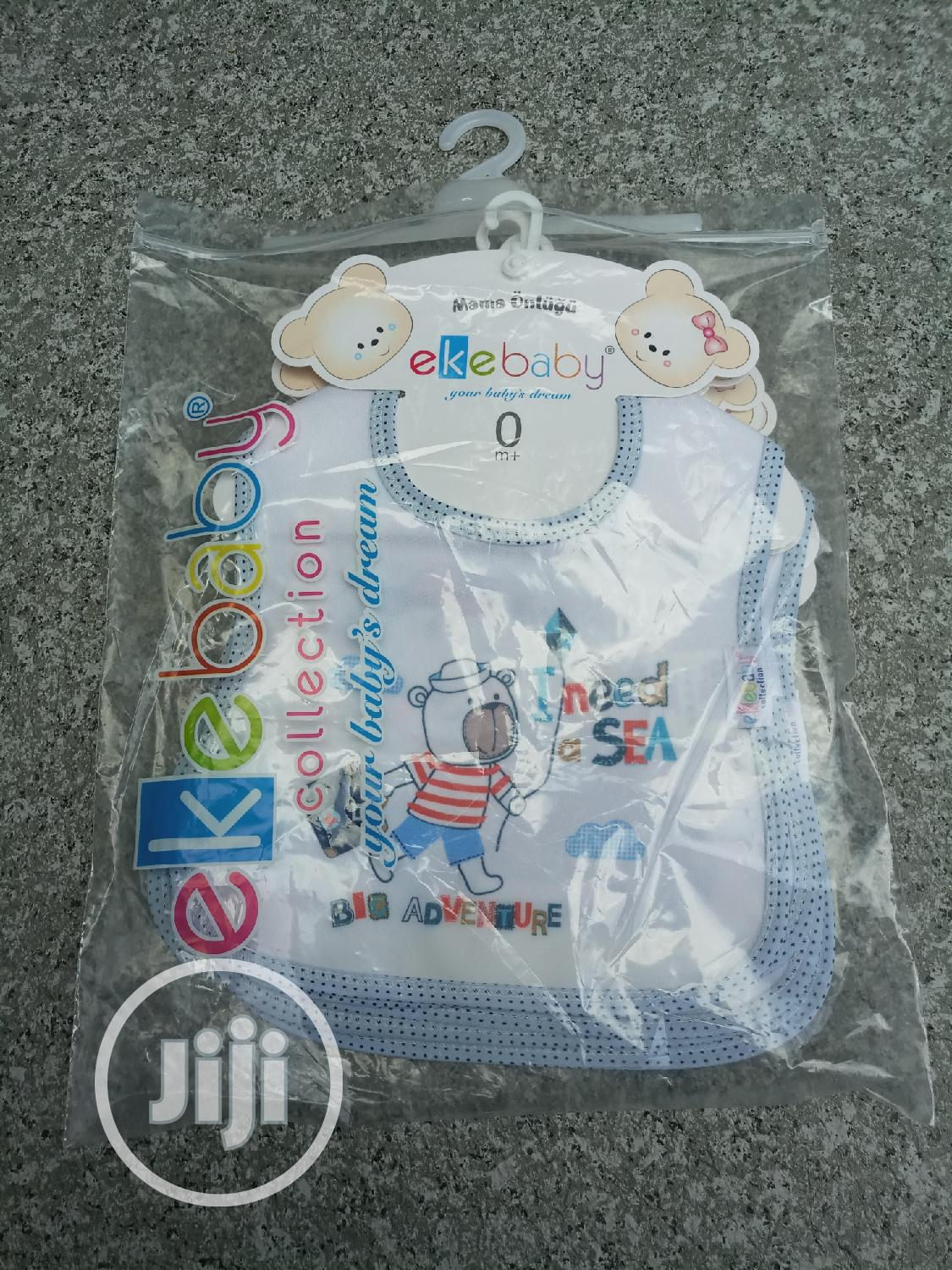 A Set 4 Pieces of Baby Bibs | Babies & Kids Accessories for sale in Lagos Island, Lagos State, Nigeria