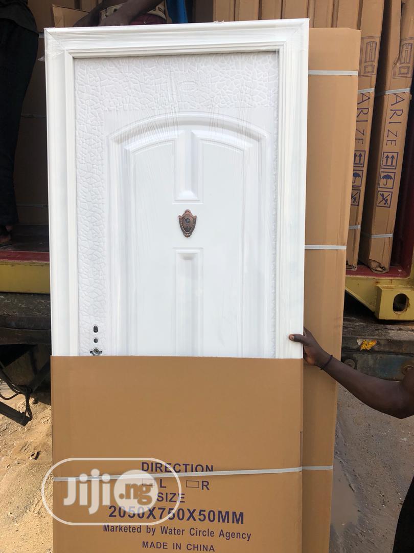 Archive: White Steel Door