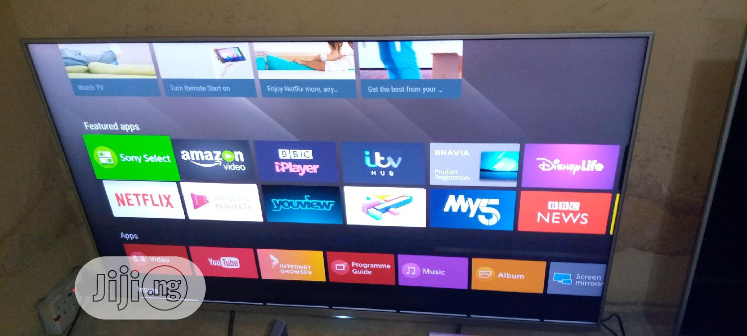 """Super Slim 50"""" Sony Android TV. 