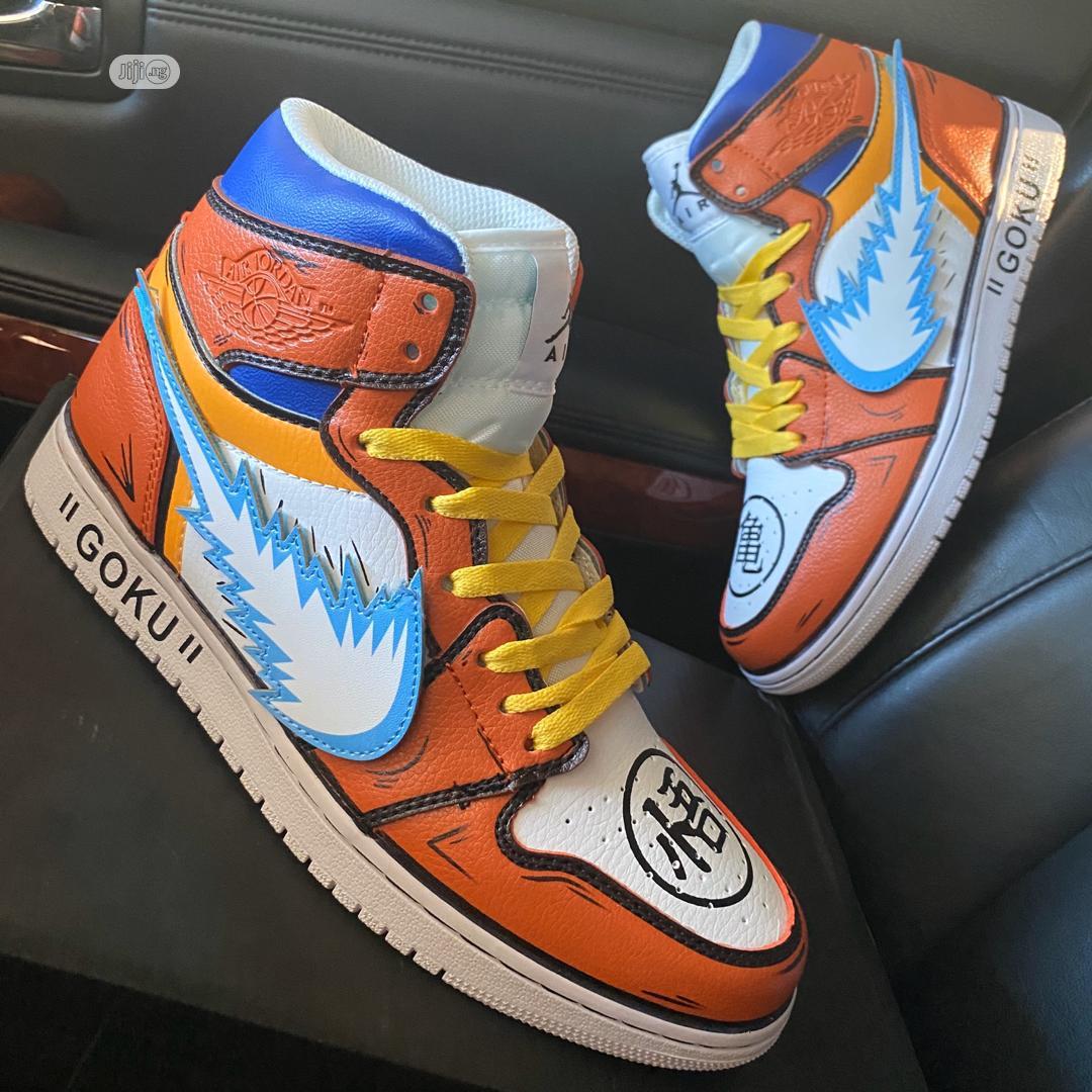 """Original Nike Air Jordan 1 """"Dragon Ball"""
