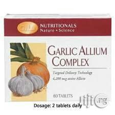 Garlic Alliums Complex | Vitamins & Supplements for sale in Lagos State, Surulere