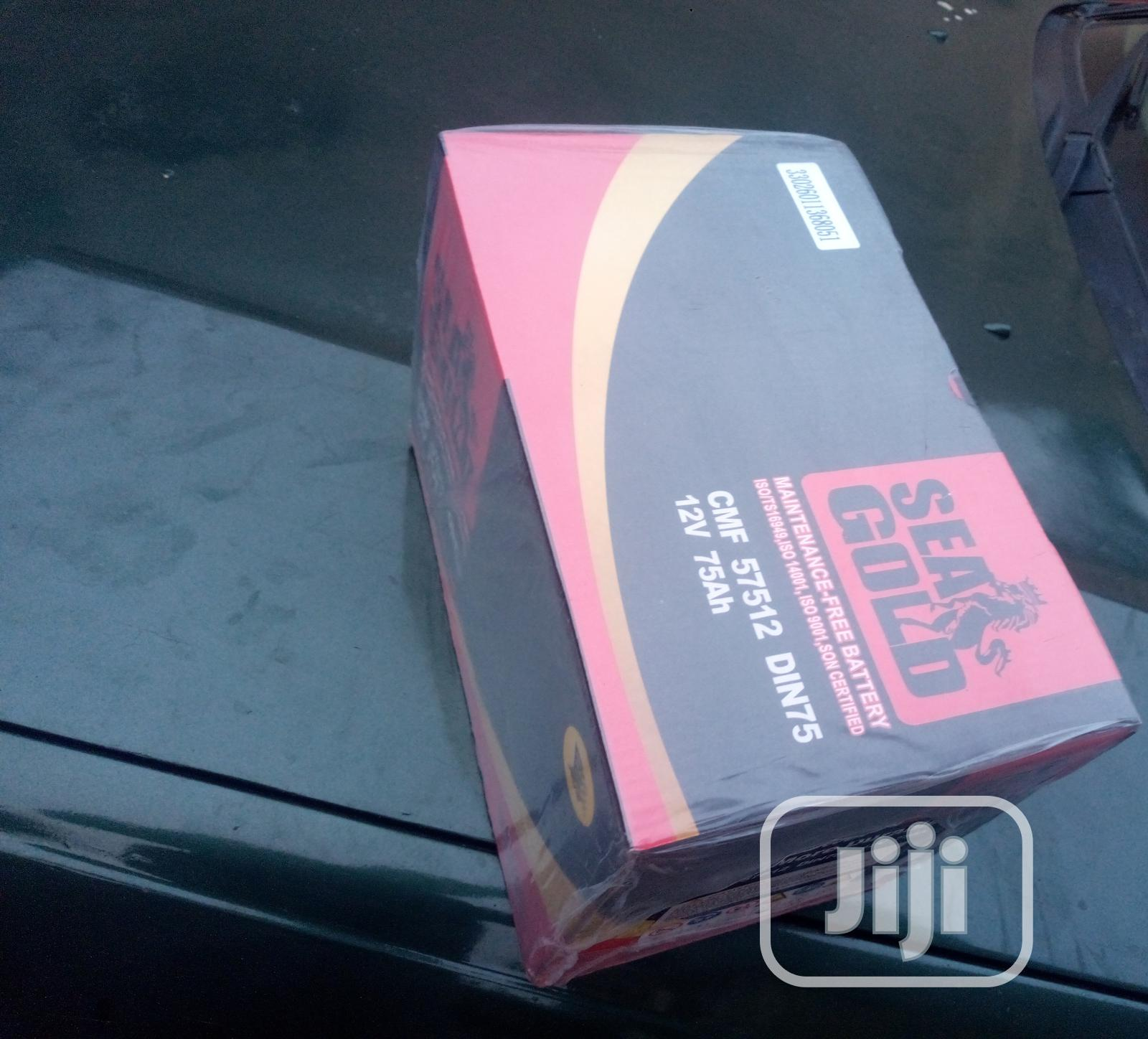 Seal Gold High Energy 75ah Car Battery Very Reliable, Call Now