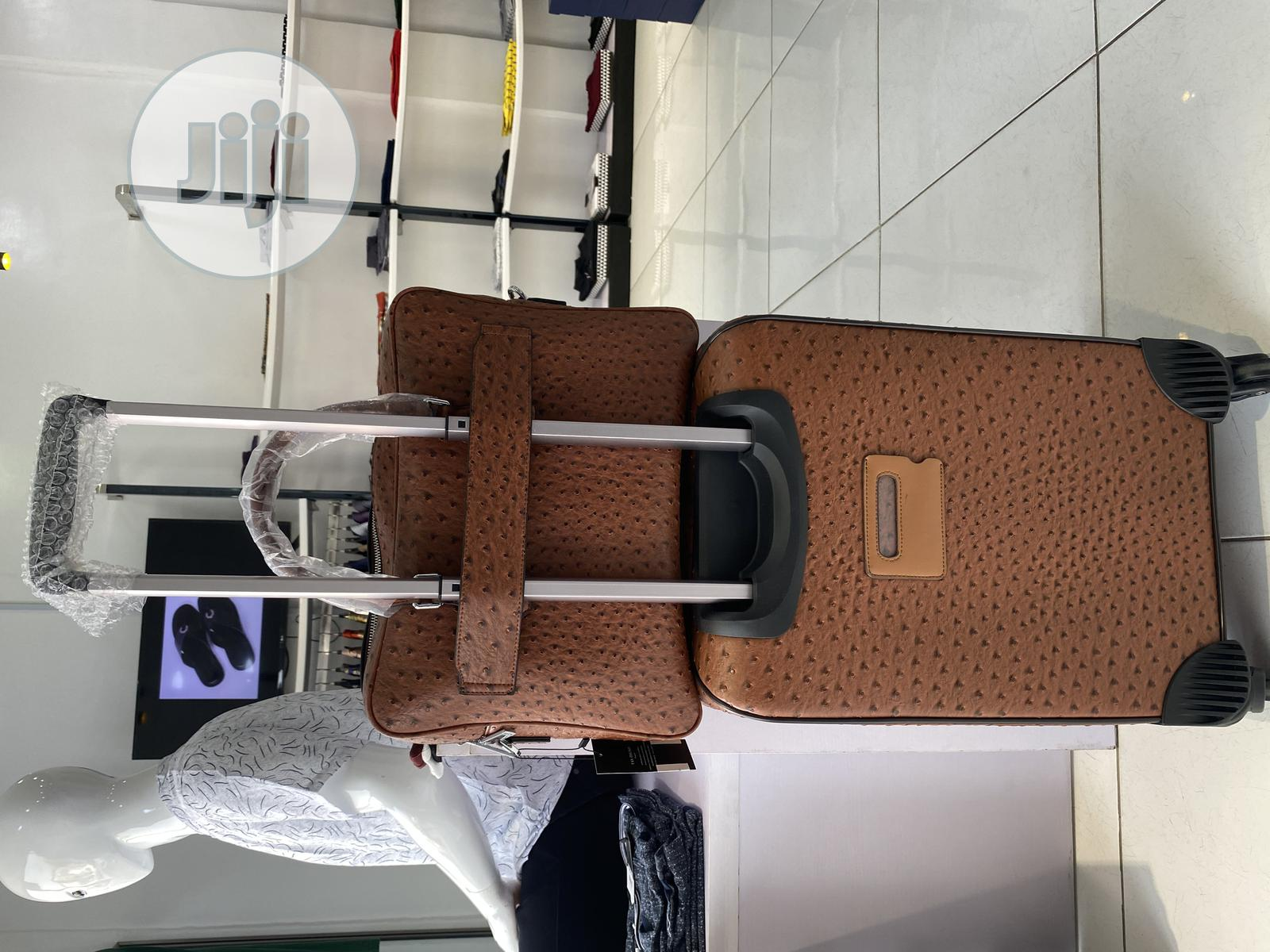 Leather Hand Luggage | Bags for sale in Ajah, Lagos State, Nigeria