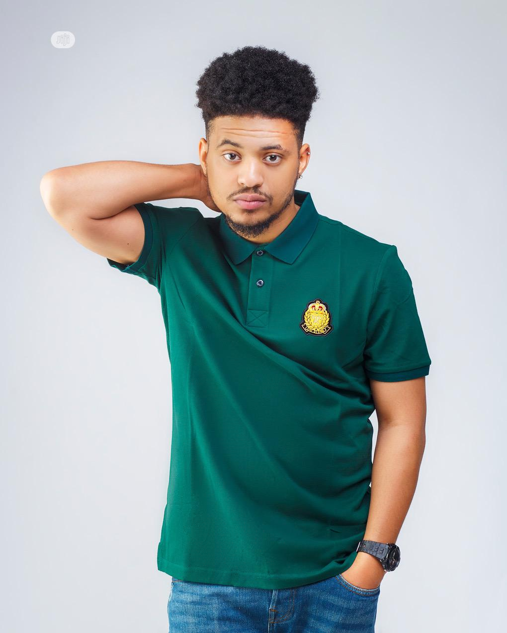 Cotton Crested Polo | Clothing for sale in Ajah, Lagos State, Nigeria